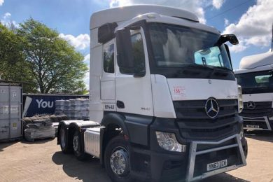 "MERCEDES ACTROS 2542 ""MP4-AS"" 6X2 UNIT"